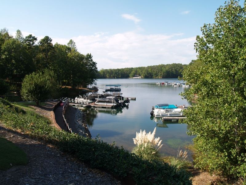 Knotts Landing Cove Lake Keowee : Six Mile : Pickens County : South Carolina