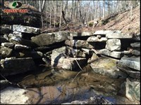 The Old Stone Wall Place, Huntin : Bethesda : Independence County : Arkansas