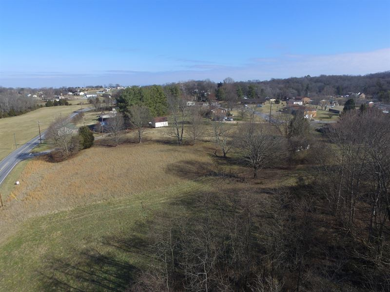8.7 Acres Mostly Cleared : Russellville : Hamblen County : Tennessee