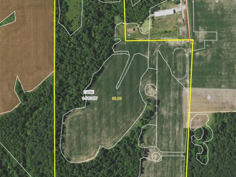 60 Acres Mark Twain Road Ralls Co : Center : Ralls County : Missouri