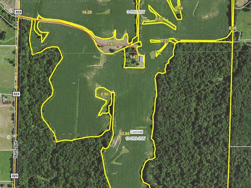 164.93 Acres Hunt Ave Chariton Co : Salisbury : Chariton County : Missouri