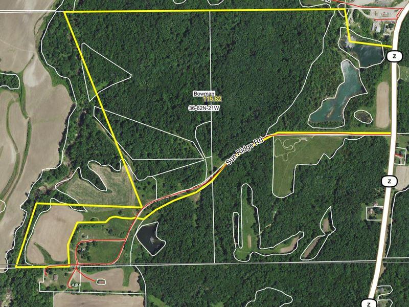 116 Acres Hwy Z Sullivan County : Milan : Sullivan County : Missouri