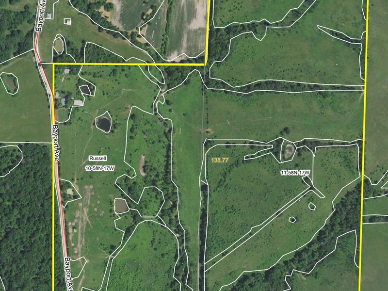 138 Acres Bayport Ave Macon County : Macon : Macon County : Missouri
