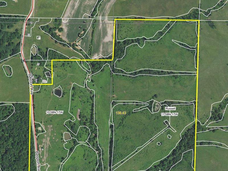 135 Acres Bayport Ave Macon County : Macon : Macon County : Missouri