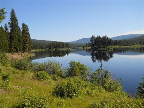 Island Lake Escape : Libby : Lincoln County : Montana