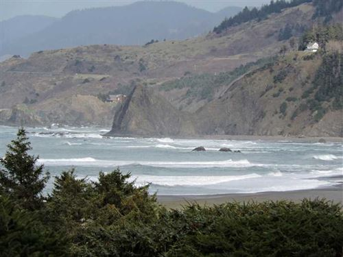 Gold Beach Ocean View Home : Gold Beach : Curry County : Oregon