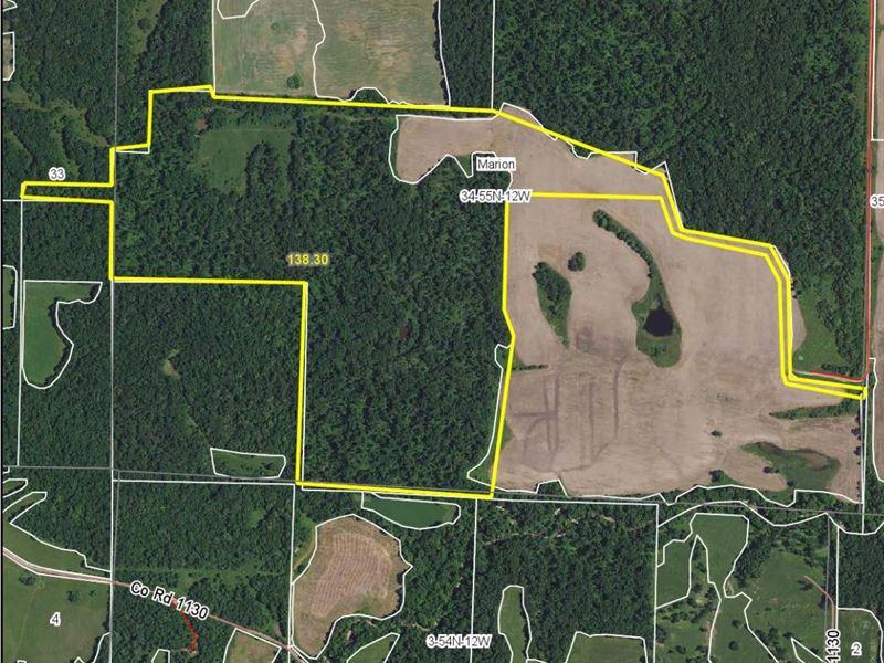 138 Acres Unnamed Rd Monroe County : Madison : Monroe County : Missouri