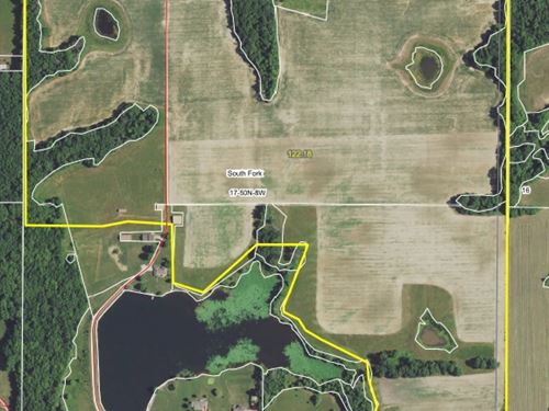 124.1 Acres Audrain Rd 832 Audrain : Mexico : Audrain County : Missouri