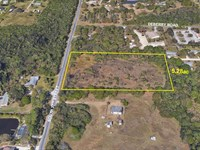 5.28Ac Residential Parcel : Fort Pierce : Saint Lucie County : Florida