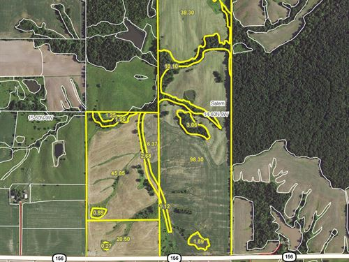 240 Acres Hwy 156 Lewis County : Ewing : Lewis County : Missouri