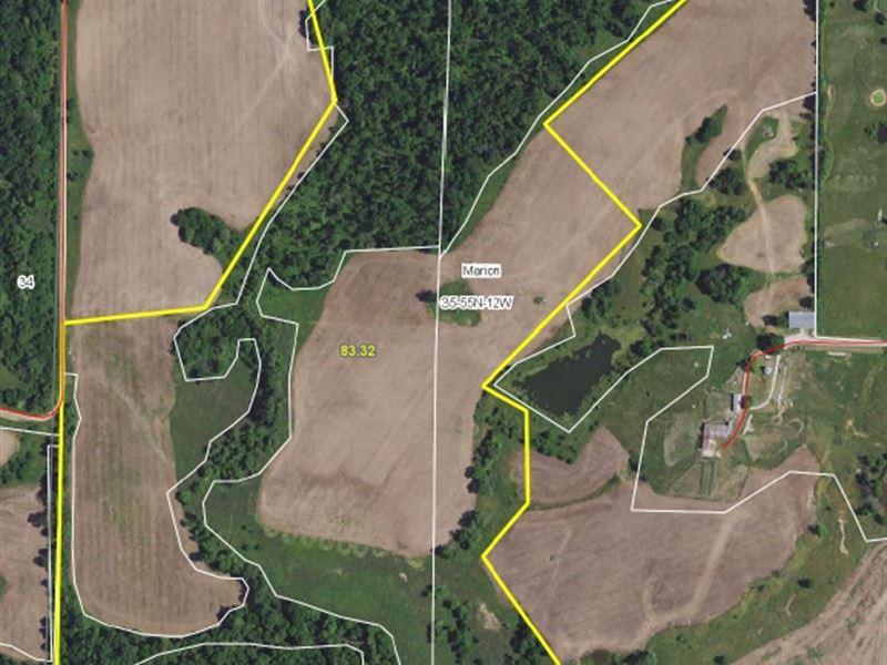 82 Acres Unamed Rd Monroe Co : Madison : Monroe County : Missouri