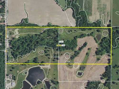 57 Acres County Rd 1450 Randolph Co : Moberly : Randolph County : Missouri