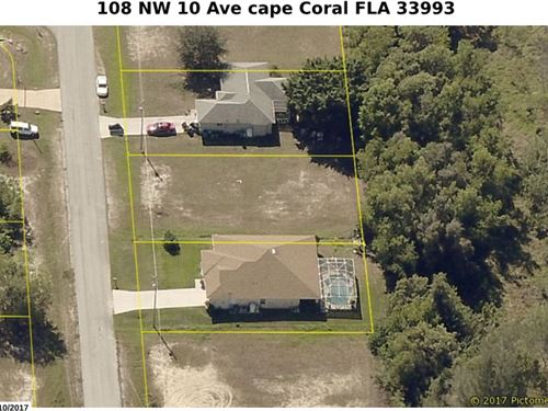 Lot Cape Coral Ready T Build : Cape Coral : Lee County : Florida