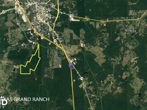 Acreage Residential Development : Huntsville : Walker County : Texas
