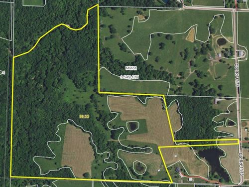 99 Acres Monroe Road 1173 Monroe : Madison : Monroe County : Missouri