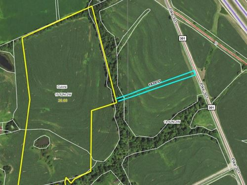 26.28 Acres Pike Road 301 Pike Co : Bowling Green : Pike County : Missouri