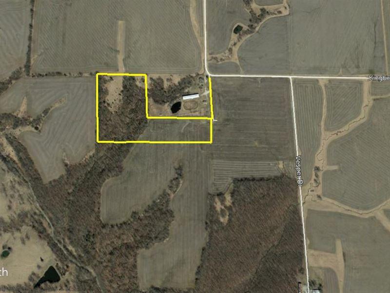 20 Acres Mark Twain Road Ralls Co : Center : Ralls County : Missouri