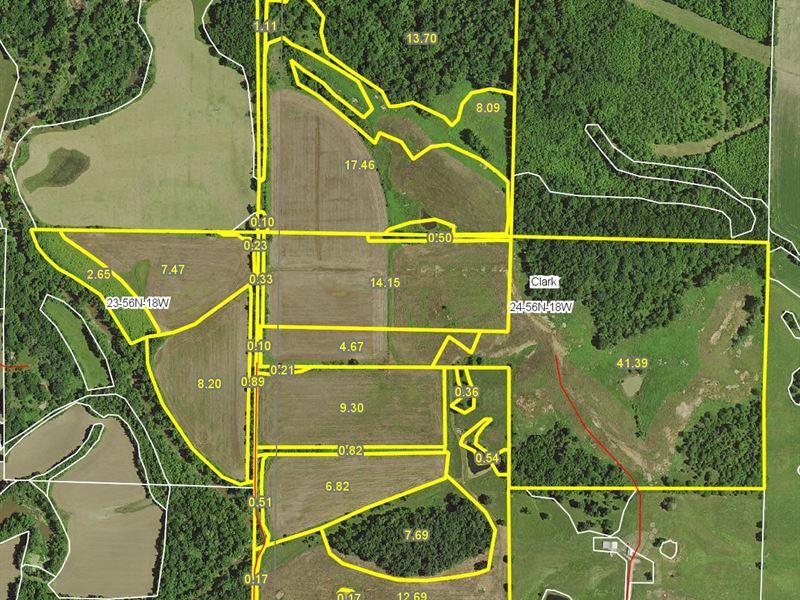 162 Acres Knox Rd Chariton County : Marceline : Chariton County : Missouri