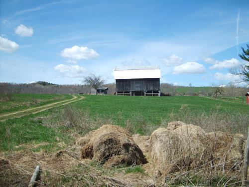 Beautiful Farm With Pond & Views : Addison : Steuben County : New York