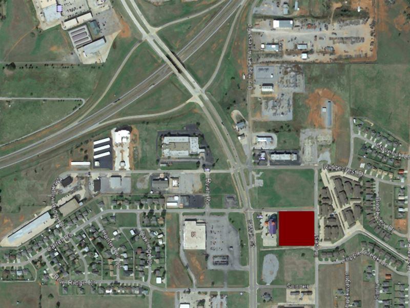 Commercial Lot In Elk City, Ok : Elk City : Oklahoma County : Oklahoma