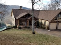 Luxury Custom Home, Lake, Mtn Views : Allons : Overton County : Tennessee
