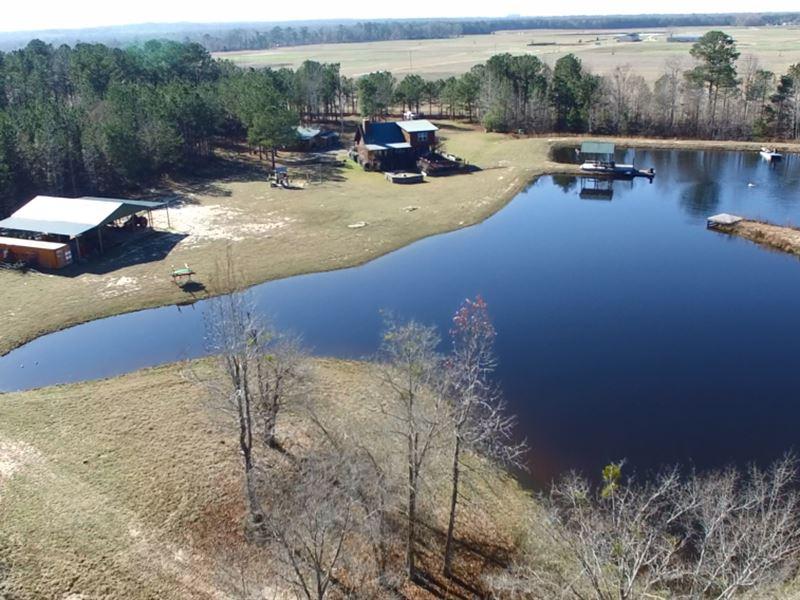 Incredible Hide Away Property : Shorter : Macon County : Alabama