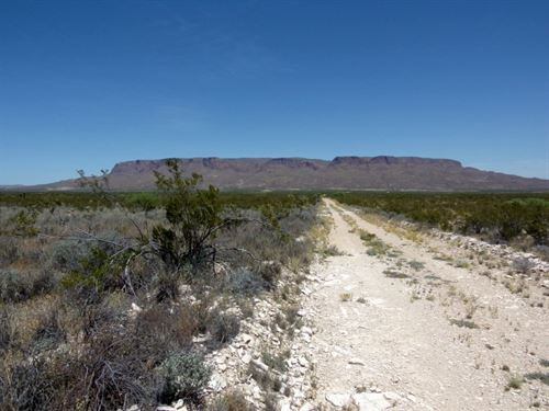 Affordable 40 Acres In West Texas : Alpine : Brewster County : Texas