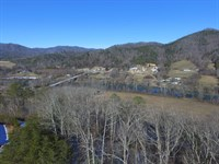 29.61 Acres With River & Mtn View : Del Rio : Cocke County : Tennessee