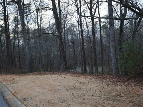 1+/- Acre Lot In Shadow Lakes : Spartanburg : South Carolina