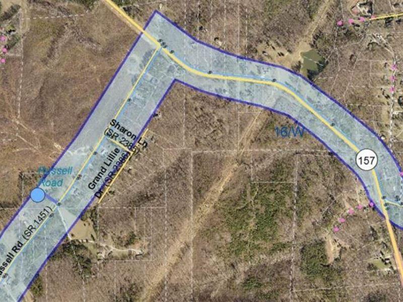 56 Acres of Prime Investment : Durham : Durham County : North Carolina