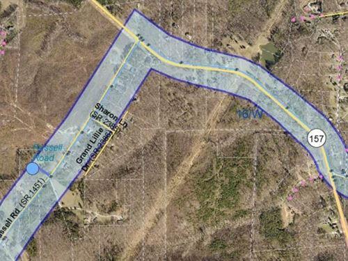 56 Acres of Prime Investment : Durham : North Carolina