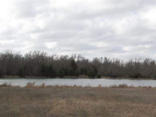 Large Acreage With Home And Shop : Paris : Lamar County : Texas