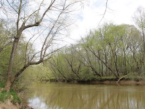 Tallapoosa River Frontage 254+/- Ac : Heflin : Cleburne County : Alabama