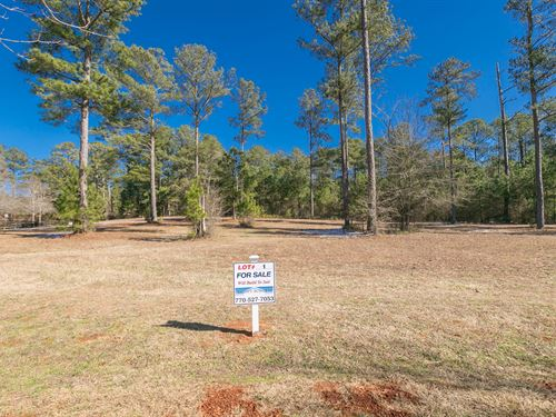 Lot 1 In Coveted Fox Valley : Monroe : Walton County : Georgia