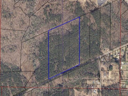 11.04+/- Acre Home Site Alex City : Alexander City : Tallapoosa County : Alabama
