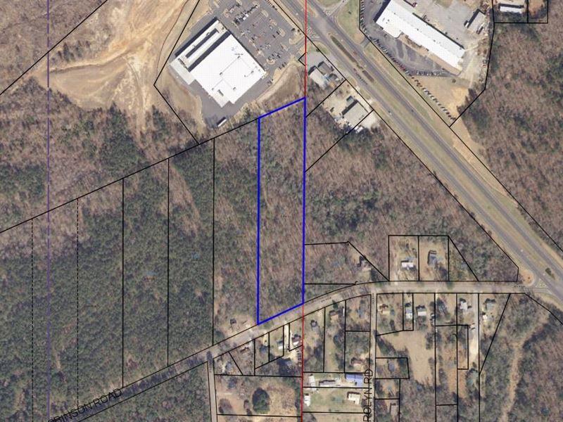 5.52+/- Acre Home Site In Alex City : Alexander City : Tallapoosa County : Alabama