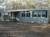 Private 2.4 Acres With 3/2 Double : Brooksville : Hernando County : Florida