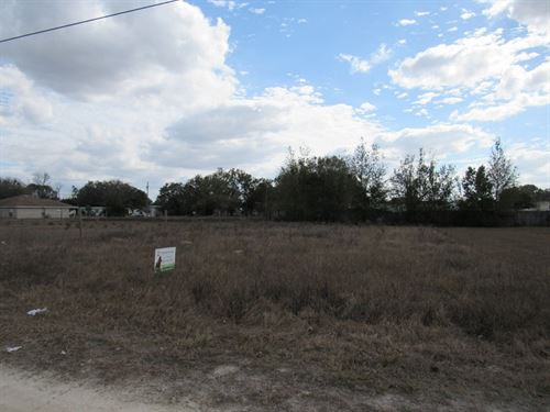 Building Lot In Tangerine Estates : Brooksville : Hernando County : Florida