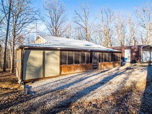 Home on 3 Acres For Sale in Wappap : Wappapello : Wayne County : Missouri