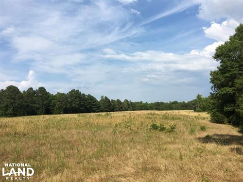 Farmland With Large Creek And Hardw : Lowndesville : Abbeville County : South Carolina
