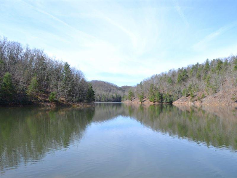 1733 Acres With 40 Acre Lake : Pulaski : Pulaski County : Virginia