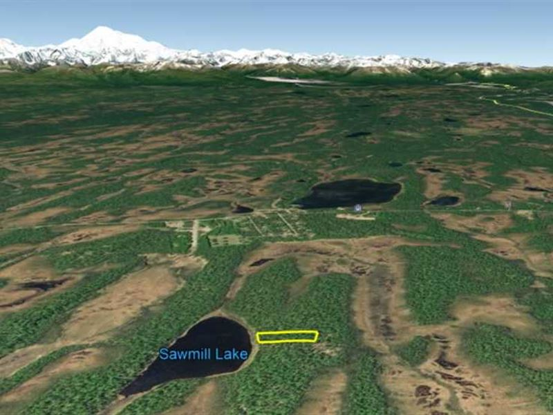 5 Acres on Sawmill Lake, Recreati : Trapper Creek : Matanuska-Susitna Borough : Alaska