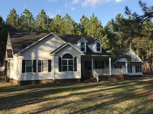 Country Custom Home On Acreage : Camilla : Mitchell County : Georgia