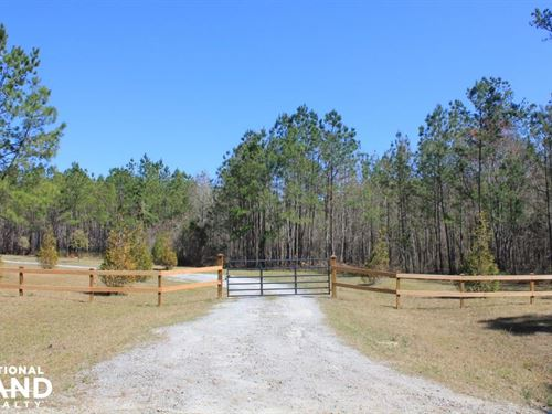 45 Acre National Forest Retreat : Shulerville : Berkeley County : South Carolina