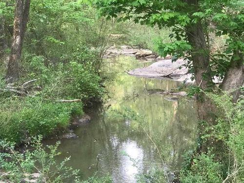 Beautiful 24+ Acre Lot With Creek : Eatonton : Putnam County : Georgia