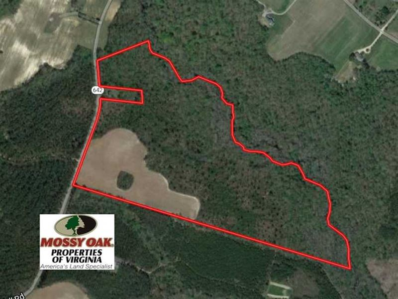 Under Contract, 67 Acres of Recre : Yale : Sussex County : Virginia