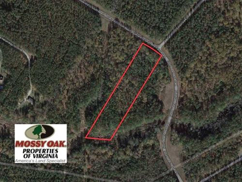 4.25 Acres of Undeveloped Resident : Little Plymouth : King And Queen County : Virginia