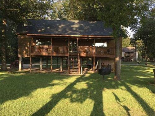 1900 Sq. Ft.Waterfront Home lo : Eutaw : Greene County : Alabama