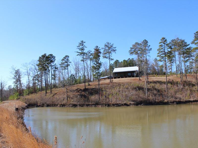Waterfront Gentleman's Farm : Gray : Jones County : Georgia