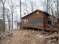 Lakefront Cottage For Sale in Wapp : Wappapello : Wayne County : Missouri